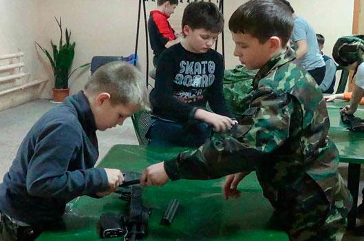 """Военно-патриотический лагерь """"Застава"""""""